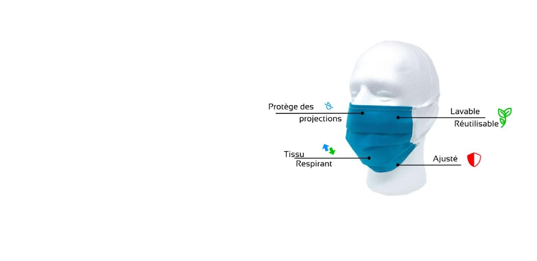 Masques non médicaux - Groupe Ranger
