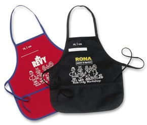 Custom Child's apron - Tex Fab Manufacturer -44-9319