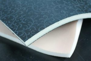 Fabrics glue on foam from Ranger Molding