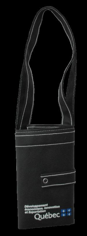 Sac personnalisé polypropylene noir - Tex-Fab