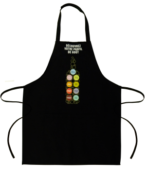 Custom Apron SAQ made by Tex-Fab