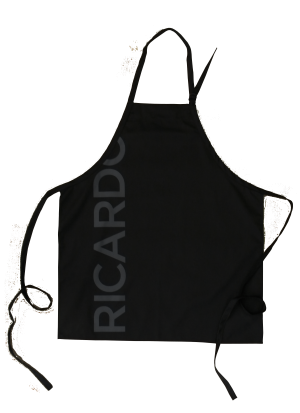 Custom Black Apron Ricardo made by Tex-Fab