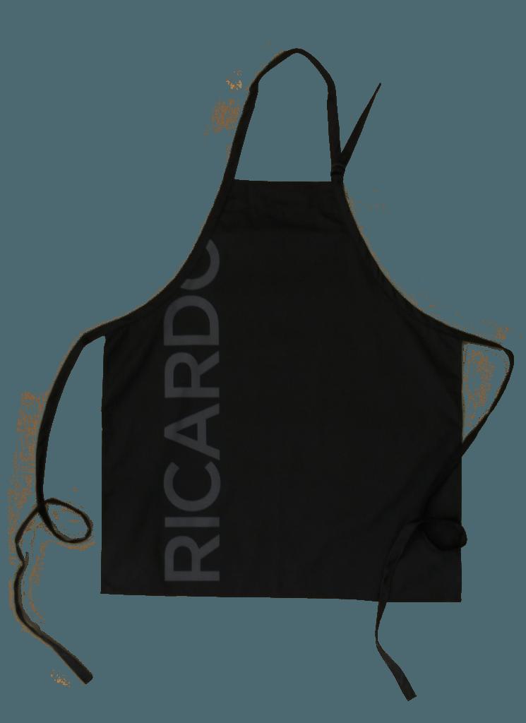 Custom Black Apron Ricardo made by Tex-Fab