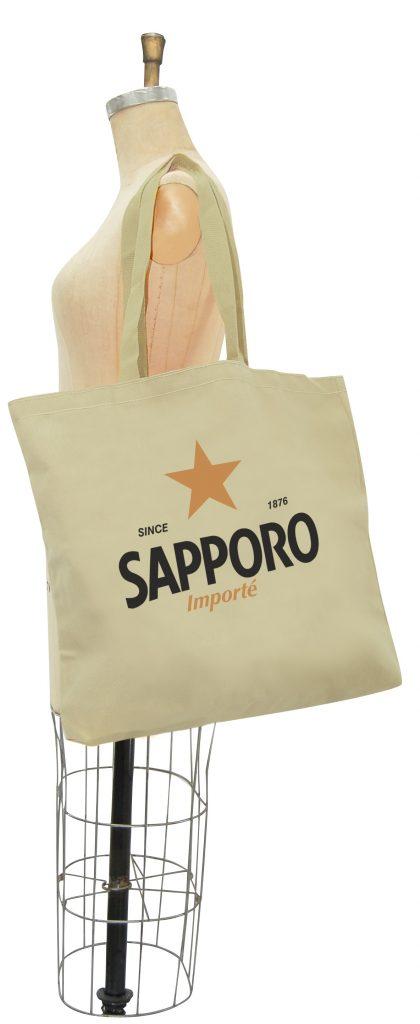 Sac Personnalisé en  Canvas 100% coton Sapporo - Made by Tex-Fab