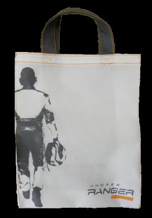 Custom Printed tote bag Andrew Ranger - Tex-Fab