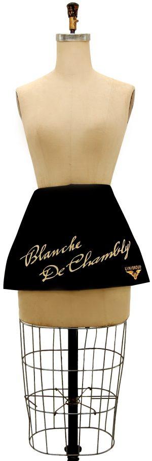 Custom short apron - blanche de chambly
