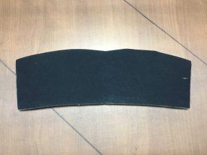 Laminated foam 3/16 black