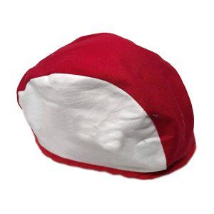 Chapeau de soudeur blanc et rouge - Manufacturier Tex-Fab - 44-6922