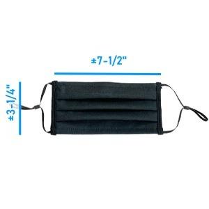 Masque 3 plis polypropylène - Masque Ranger - Directement du manufacturier
