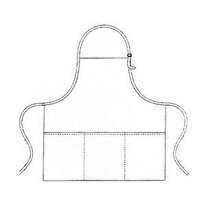 Tablier personnalisé 3 poches - Manufacturier Tex-Fab - 44-9255