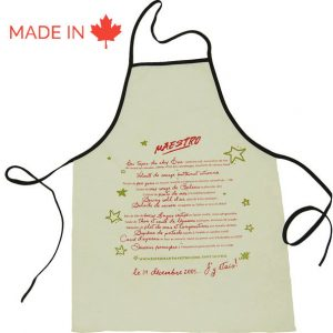 Custom Kitchen Apron - Tex-Fab Manufacturer - 44-9255