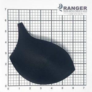 BLACK BRA FOAM PAD CUP - RANGER MOLDING MANUFACTURER